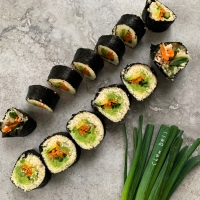 Heavenly Low Carb Vegan Sushi
